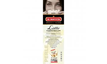 НОВИНКА!!! Молоко в капсулах Di Maestri Perle Latte